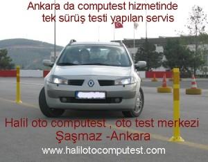 yol sürüş testi