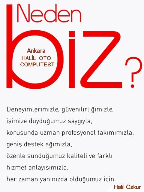 Halil oto neden Ankara nın en çok tercih edilen computest merkezidir?